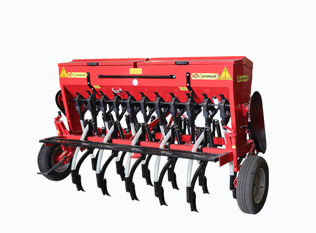 11 Line Chickpea Sowing Machine